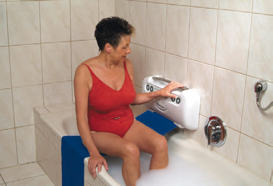 Bandlift für Badewanne