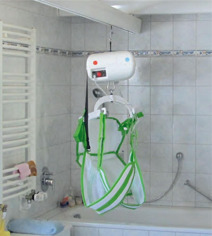 Deckenlift Badezimmer